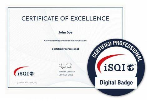 Laat je kennis zien met de ISTQB Digital Badge's
