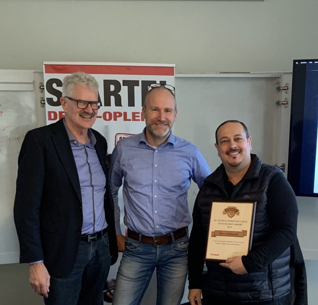 EC-Council: Award IMG 0309