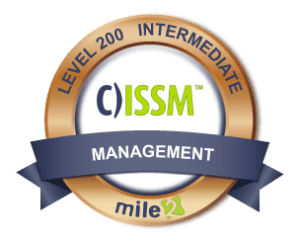 Certified Information Systems Security Manager and Exam prep CISM  (CISSM) Mile2